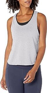 SOFFE Women's Juniors Dance Crop Tank Yoga Shirt