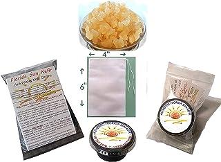 Florida Sun Kefir Live Organic Water Kefir Grains (Crystals, Tibicos)