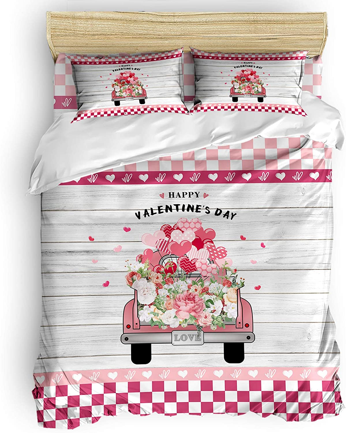 Comforter Cover Set Twin Duvet and quality assurance Roses Truck Fresno Mall Ba with