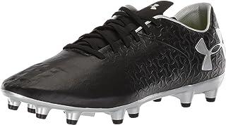 حذاء كرة القدم ماجنتيكو بريمير فرام الأرض للفتيات من أندر أرمور، مائي (464)/أبيض، 1