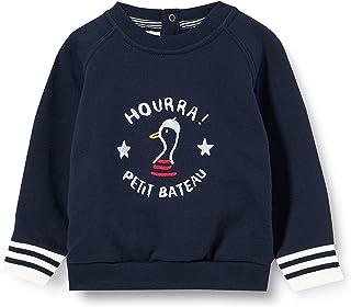 Petit Bateau Bluza dla dziewczynek, Smoking, 12 Miesiące