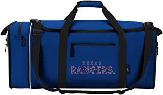 """Officially Licensed MLB Texas Rangers""""Steal"""" Duffel Bag, 28"""" x 11"""" x 12"""", Multi Color"""