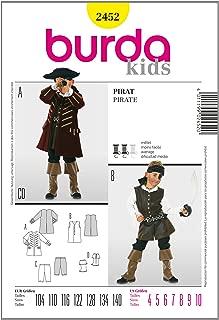 Burda Patr/ón N/º2459 Hist/órica Casanova Pirata