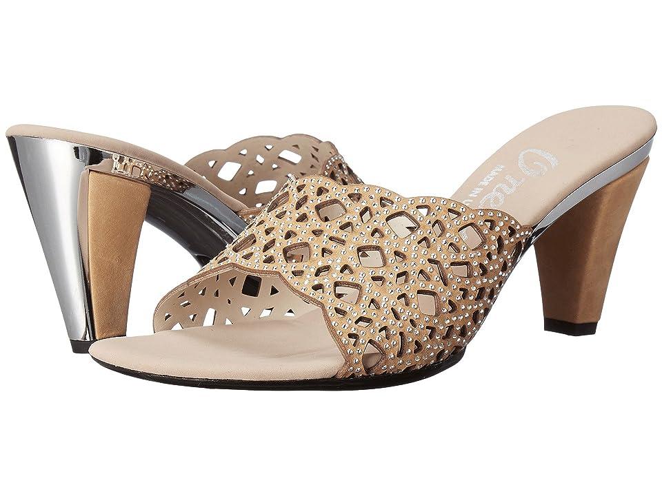 Onex Layla (Tan Leather) High Heels