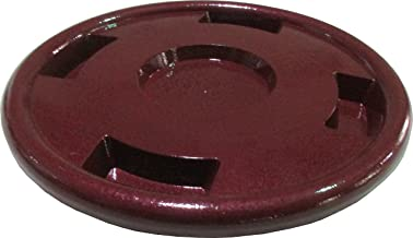 """Happy Planter Round Resin Planter Caddy with Wheels 16.4"""" x 16.4"""" x 3.1"""" 608410080195 1"""