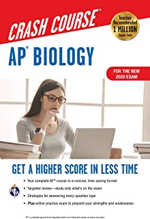 Ap(r) Biology Crash Course, Book + Online: Get a Higher Score in Less Time