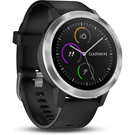 "Smartwatch GARMIN Vivoactive 3 1,2"" GPS Waterproof 5 ATM Glonass Black Stainless Steel"