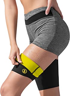 HOT SHAPERS Hot Leg Sleeves – Women's Body, Thigh and Hamstring Slimmer – Enhancer for Weight Loss Workouts and Sweat Sessions – Compression Sleeve – Suit – Band
