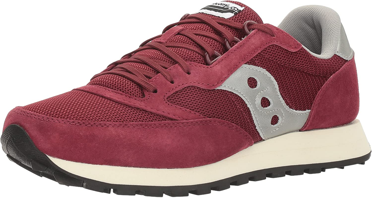 Saucony Originals Men's Freedom Trainer Running shoes, Crimson, 4.5 M US