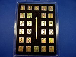 Tandy Leather Factory Runic / Celtic Alphabet Stamp Set 3/4