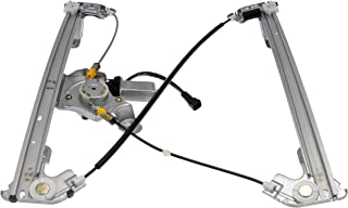 Dorman 741-968 Rear Driver Side Power Window Motor and Regulator Assembly for Select Ford / Lincoln Models, Black