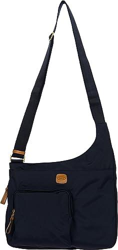 Bric's X-Bag Hipster Schulranzen, 32 cm, Blau (Ocean Blau)