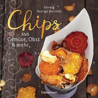 comprar comparacion Chips aus Gemüse, Obst und mehr. Die besten Rezepte für hauchdünnes Gebäck aus dem Backofen: Lecker, fettarm und gesund. M...