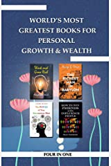 World's Greatest Books For Personal Growth & Wealth (Set of 4 Books): Perfect Motivational Gift Set Kindle Edition