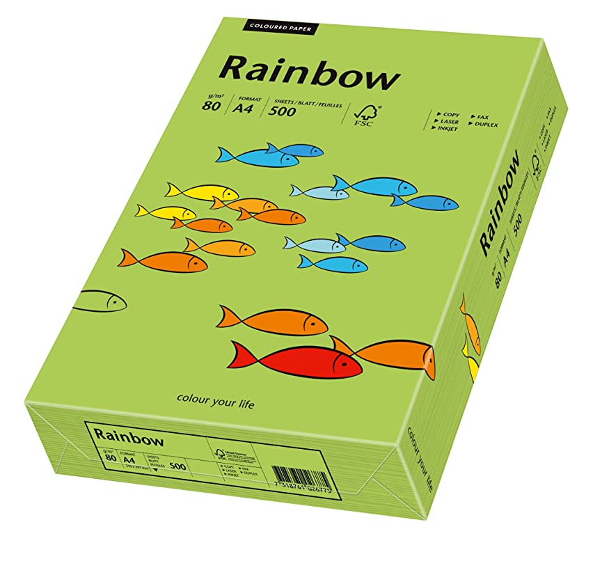 Papyrus Rainbow 88042651 Multi Purpose Paper A4 80 g/m2 500 Sheets Green