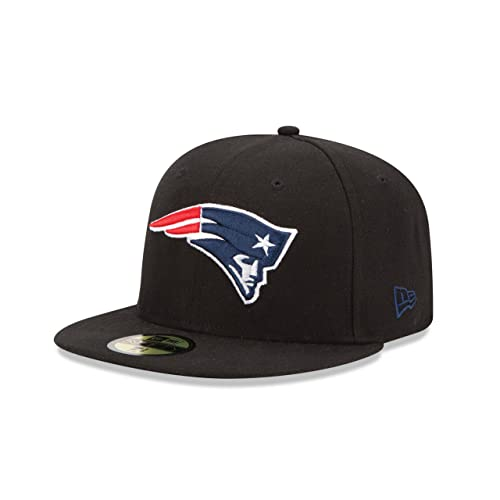 new products 673a0 65700 New Era NFL Black and Team Color 59FIFTY Fitted Cap