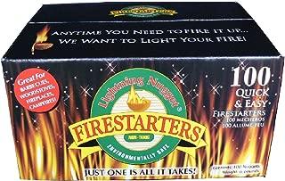 Lightning Nuggets Fire Starters, 100 Pack