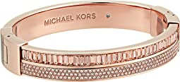 Michael Kors - Color Crush Baguette Cut Crystal Hinge Bracelet
