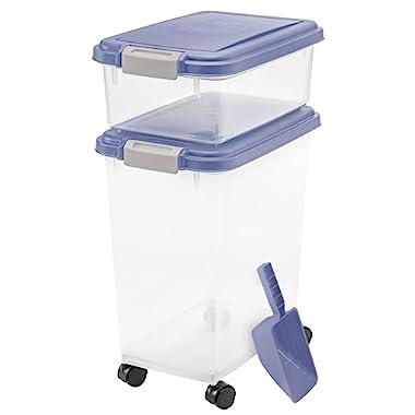 Iris Airtight Food Storage and Scoop Combos