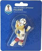 3D PVC zabivaka Figurine de Collection Coups/ /Taille: env FIFA 2018 FIFA Coupe du Monde 2018 7/cm dans Un Blister