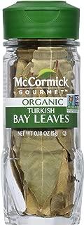 McCormick Gourmet Organic Bay Leaves Turkish, 0.18 oz