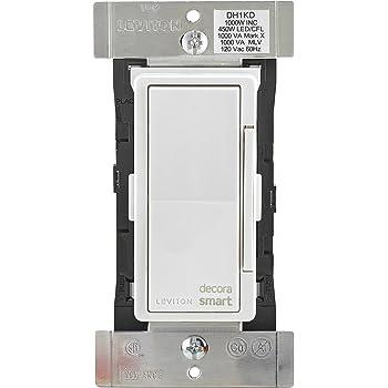Leviton DH1KD-1BZ 1000W Decora Smart Dimmer, Works with Apple HomeKit