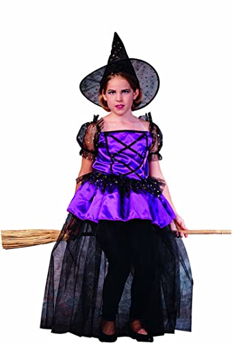 RG Costumes Sabrina The Pretty Witch Costume, noir violet, petit by RG Costumes
