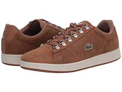 Lacoste Carnaby Evo 319 3 (Light Brown/Off-White) Men