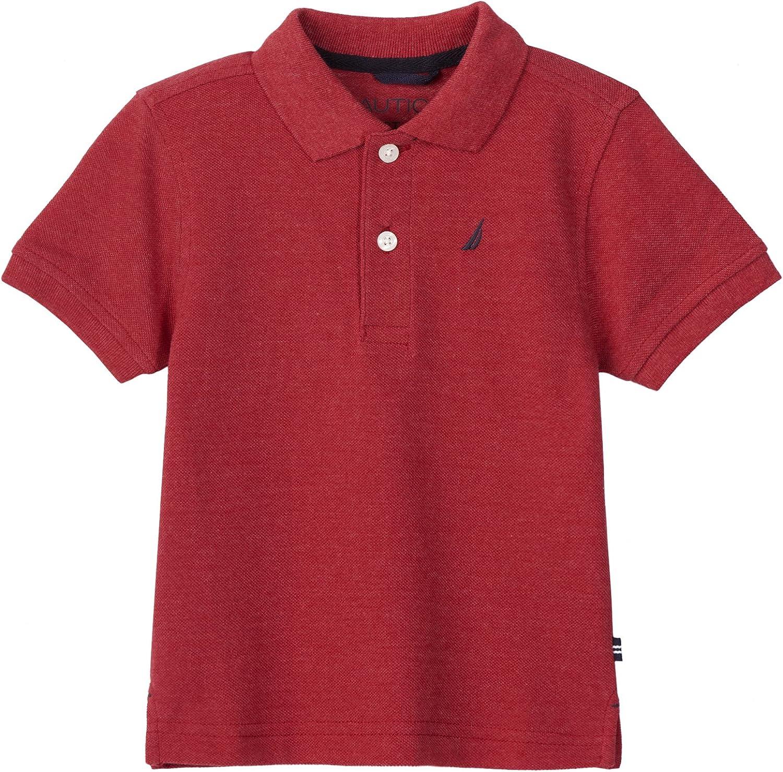 Nautica Little Boys/Toddler Pique Solid Polo Shirt