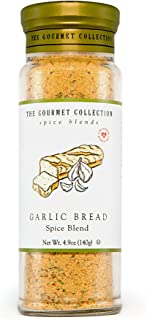 The Gourmet Collection Spice Blends Garlic Bread Spice Blend - Garlic Butter Seasoning for Cooking - Salt Free - Bread, Ri...