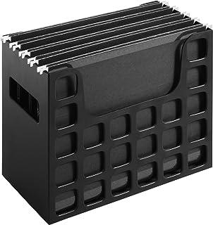 Pendaflex Decoflex Desktop File, 9 1/2 (H) x 12 1/4 (W)x 6 (D) inch, 23013, Black