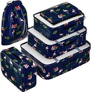 مجموعة منظمات مكعبات التعبئة من إيفيك لحقيبة السفر والأمتعة
