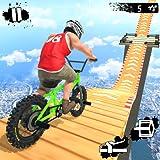 Mega Ramp Crash Stunts BMX Bike Racing Challenge