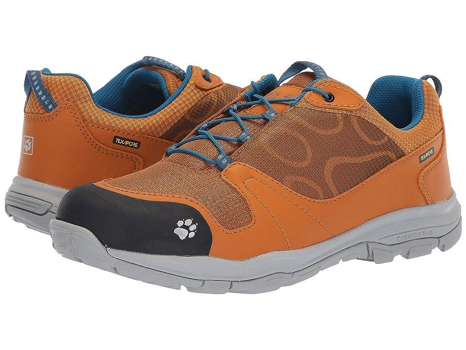 Jack Wolfskin Kids Akka Waterproof Low (Toddler/Little Kid/Big Kid) (Golden Deer) Boys Shoes