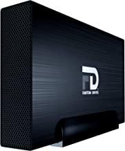 FD 5TB External Hard Drive - USB 3.2 Gen 1 - 5Gbps & eSATA & FireWire - GForce 3 Aluminum - Black - Compatible with Mac/Windows/PS4/Xbox (GF5000QU3) by Fantom Drives