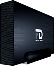 Fantom Drives 3TB External Hard Drive - USB 3.0/3.1 Gen 1 Aluminum Case - Mac, Windows, PS4, and Xbox (GF3B3000U)