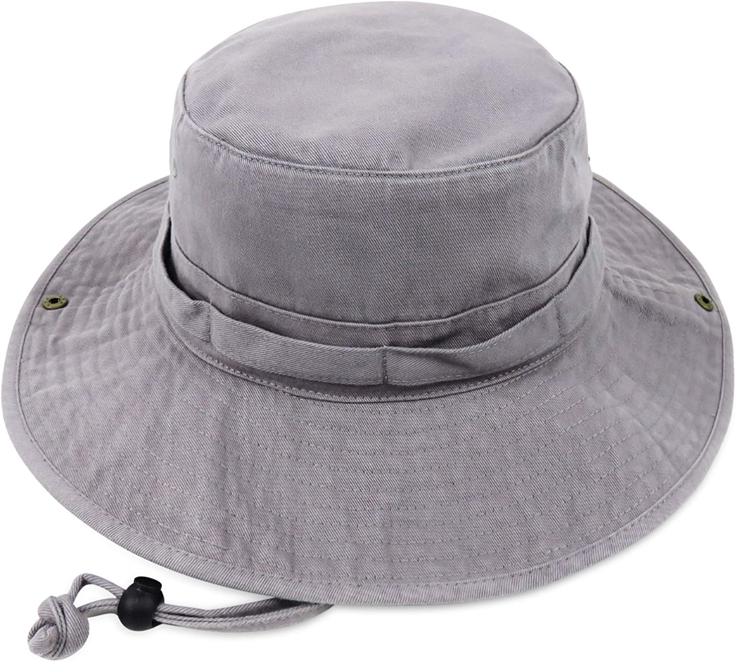 Phaiy Bucket Hat Wide Brim UV Protection Sun Hat Boonie Hats Fishing Hiking Safari Outdoor Hats for Men and Women