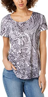 Style & Co. Womens Printed T-Shirt