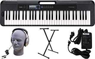 $183 » Casio CT-S300 61-Key Premium Keyboard Pack with Stand, Headphones & Power Supply (CAS CTS300 PPK)