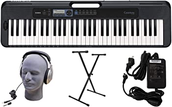Casio CT-S300 61-Key Premium Keyboard Pack with Stand, Headp