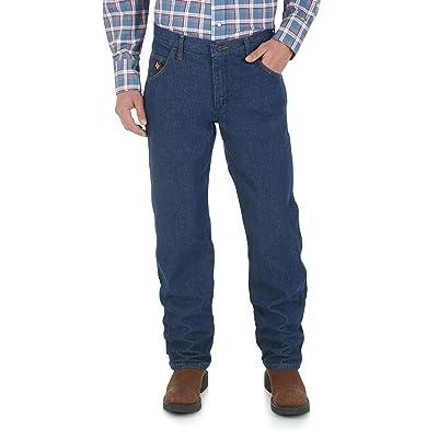 Wrangler Flame Resistant Lightweight Regular Fit (Dark Denim) Men