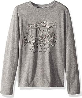 Boys Vintage Crusher Longsleeve Holiday T-Shirt