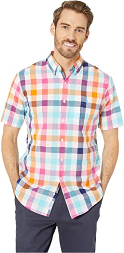 Multicolor Medium Plaid Button Down