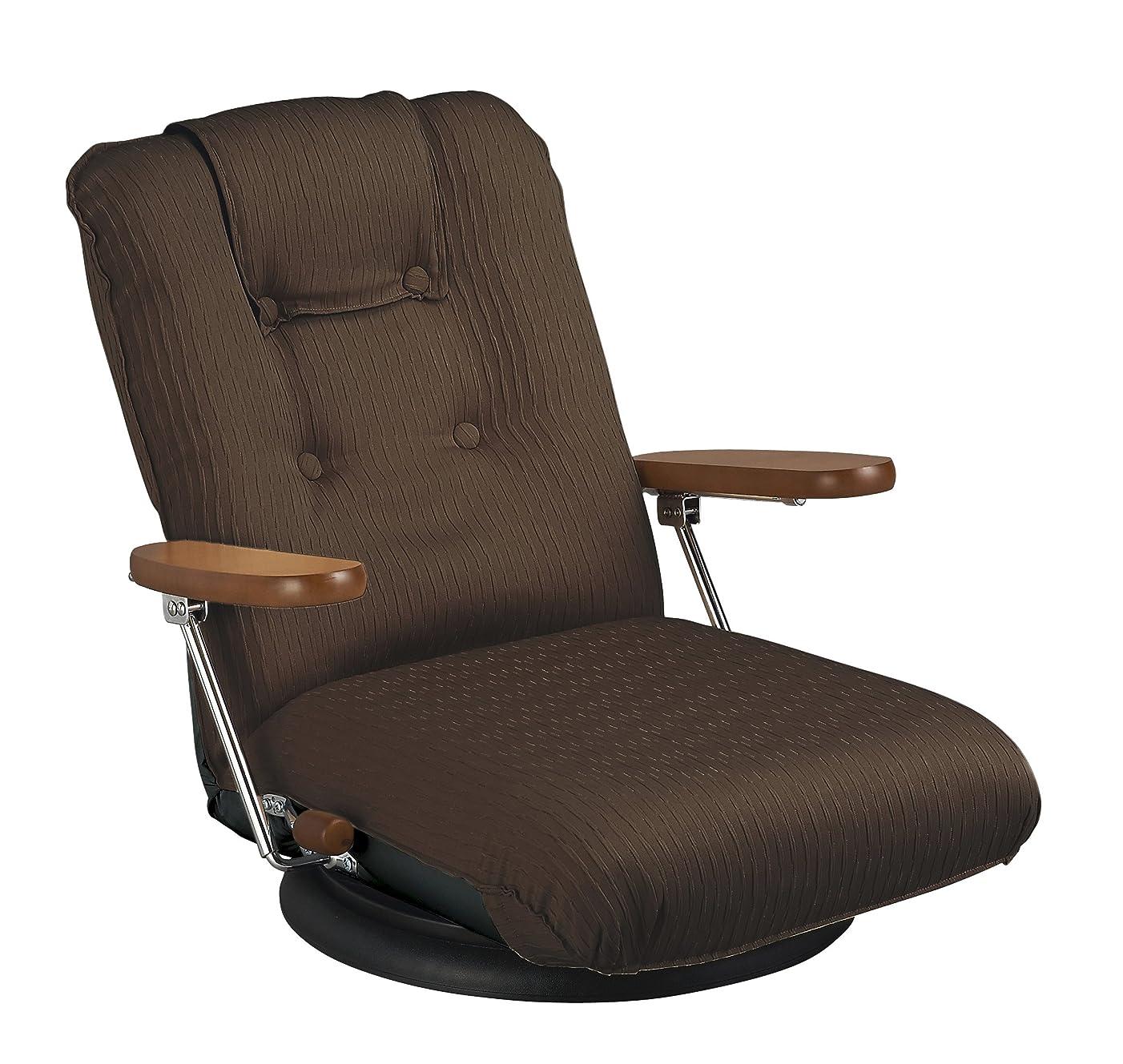 突撃電極食事を調理する宮武製作所 ポンプ肘式回転座椅子 YS-P1375 BR ブラウン 2548