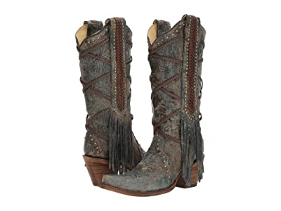 Corral Boots A3147 (Blue/Brown) Women