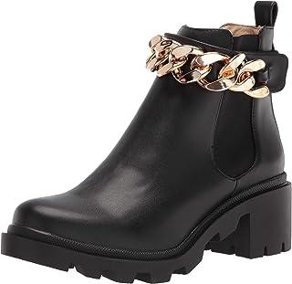 Steve Madden Women's Amulet-C Ankle Boot, Black, 7.5