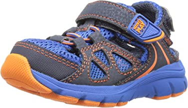 (Toddler (1-4 Years), 5 W US Toddler, Navy/Royal) - Stride Rite Made 2 Play Scout Water Shoe