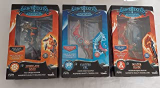 Lightseekers Weapon 3 Pack Bundle, Spinblade 3000, Molten Blade, Electro EEL