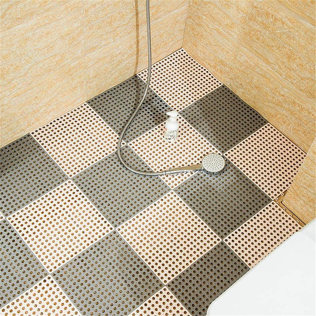略奪ヘア錆びQD-SGMP 風呂マット バスルームマット キッチンマット 滑り止めマット 30X30CM 転倒防止 介護用 浴槽用 DIY防水マット PEマット 無臭