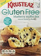 Krusteaz Gluten Free Blueberry Muffin Mix, 15.7 oz Box, Single Unit